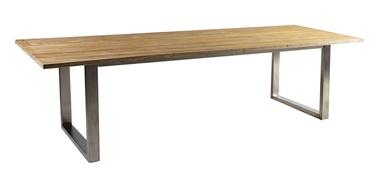 Садовый стол Home4you Nautica Teak, 280 x 100 x 76 см