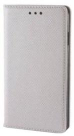 Mocco Smart Magnet Book Case For Nokia 3310 2017 Silver