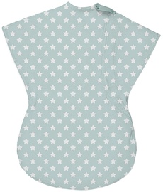 Summer Infant SwaddleMe Wiggle Blanket Large Teal/White Star