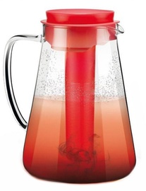 Tescoma Teo Juice Mug For Hot And Cold Drinks 2.5l Red