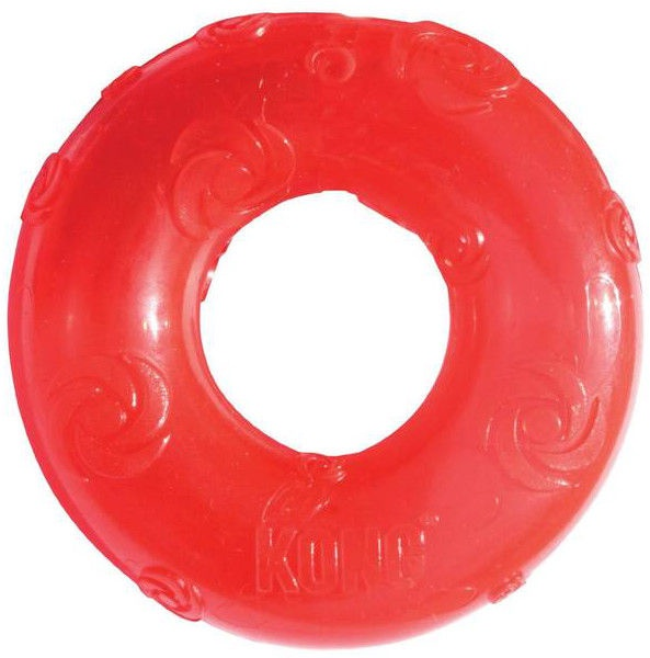 Kong Squeezz Ring Large Red