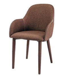 Ēdamistabas krēsls Signal Meble Oscar Brown, 1 gab.