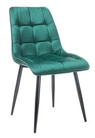 Ēdamistabas krēsls Signal Meble Chic Green, 1 gab.