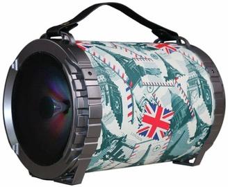 Bezvadu skaļrunis Omega OG73 Bazooka England Color, 20 W