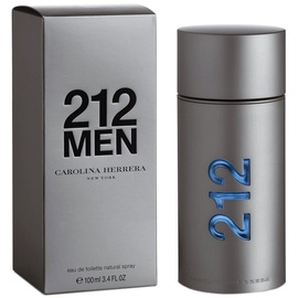 Tualetes ūdens Carolina Herrera 212 Men 100ml EDT