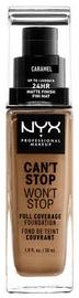 Tonizējošais krēms NYX Can't Stop Won't Stop CSWSF15 Caramel, 30 ml