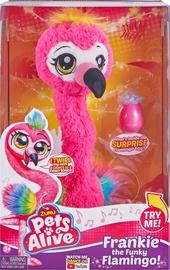 Interaktīva rotaļlieta Zuru Pet Alive Frankie The Funky Flamingo