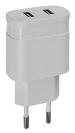 Lādētājs Rivacase PS4122 W00, AC / 2 x USB