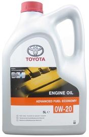 Машинное масло Toyota Fully Synthetic 0W - 20, синтетический, для легкового автомобиля, 5 л
