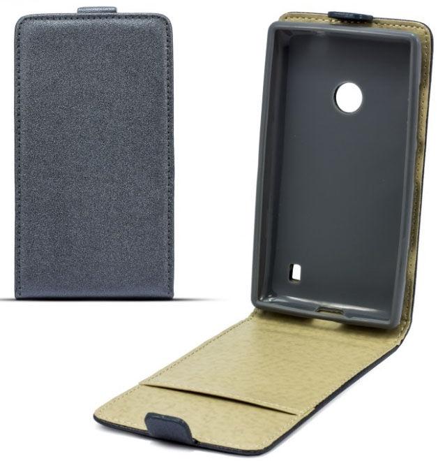Telone Shine Pocket Slim Flip Case LG L Fino Grey