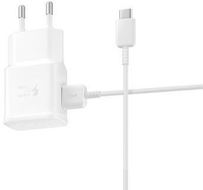 Samsung Fast USB Travel Charger With USB Type-C Cable White