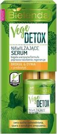 Сыворотка для лица Bielenda Vege Detox Moisturizing Face Serum With Broccoli, 15 мл