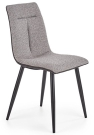 Halmar Chair K374 Light Grey/Black