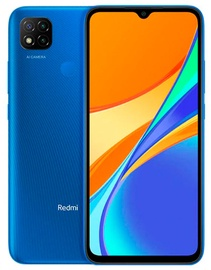 Mobilais telefons Xiaomi Redmi 9C, zila, 2GB/32GB