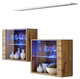 ASM Switch SB III Hanging Cabinet/Shelf Set Wotan/White