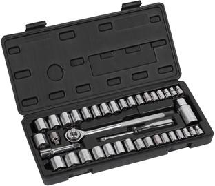 Набор инструментов Kreator KRT500103 Socket Set 39pcs