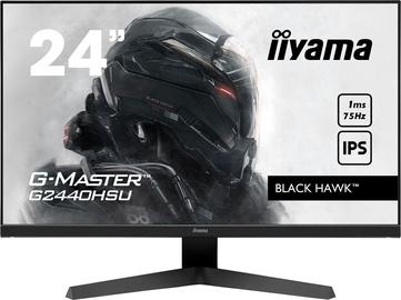 "Monitors Iiyama G-Master G2440HSU-B1, 23.8"", 1 ms"
