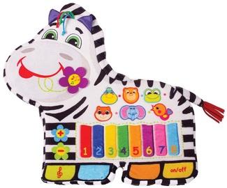 Interaktīva rotaļlieta Happy Snail Musical Zebra 17HS01IFR