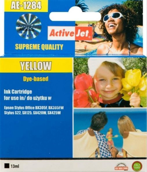 ActiveJet AE-1284 Cartridge 13ml Yellow
