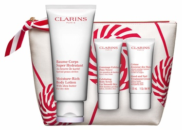 Clarins Body Care Essentials 4pcs Set