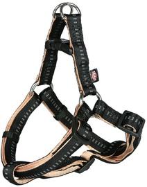 Trixie Softline Elegance One Touch Harness M Black/Beige