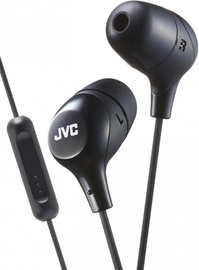 Наушники JVC HA-FX38M in-ear, черный