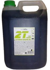 Eļļa AutoDuals 2T-mix Semi-Synthetic Oil Green 5l