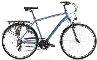 """Велосипед Romet Wagant 2128435, синий/серый, 21"""", 28″"""