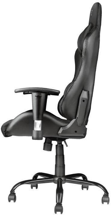 Spēļu krēsls Trust Resto GXT 707, melna
