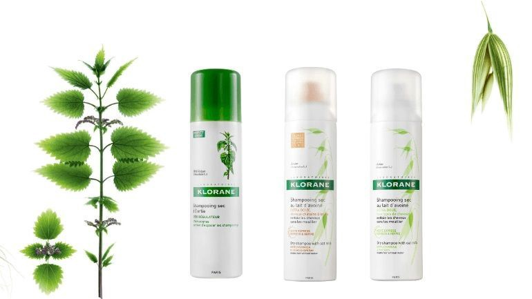 Klorane Dry Shampoo With Nettle Tinted 150ml