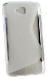 Telone Back Case S-Case for LG D684 G Pro Lite Transparent