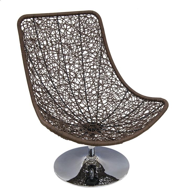 Dārza krēsls Masterjero Pašėlęs ritmas, ziloņkaula, 99x84x101 cm