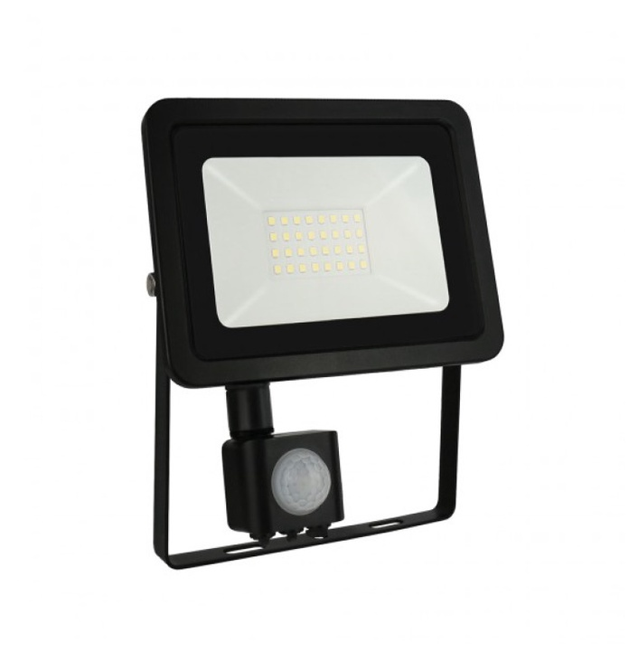 Prožektors NOCTIS LUX 2 SMD NW, LED 30W, IP44 ar sensoru