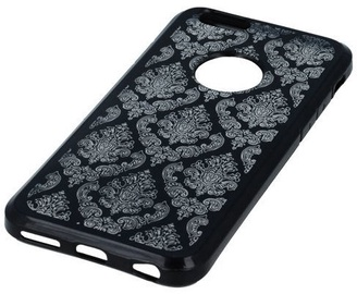Mocco Ornament Back Case For Apple iPhone X Black