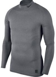 Nike Men's T-shirt Pro Cool Compression Mock LS 838079 091 Gray XL