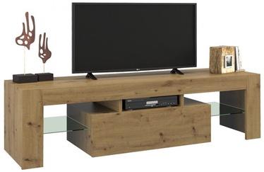 ТВ стол Top E Shop Deko 140, коричневый, 1400x400x450 мм