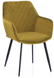 Homede Vialli Chairs 2pcs Mustard