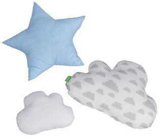 Spilvens Lulando Cloud Pillows Blue 3pcs