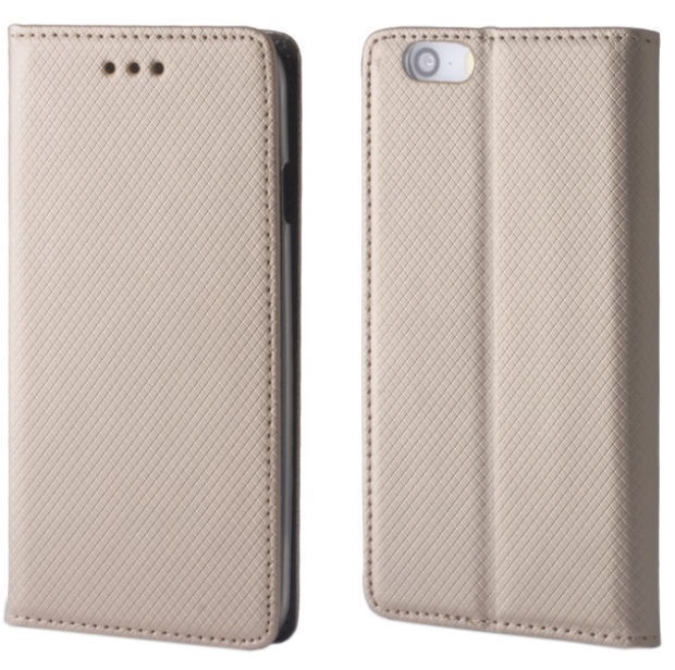 TakeMe Smart Magnetic Fix Book Case For Huawei P30 Pro Gold