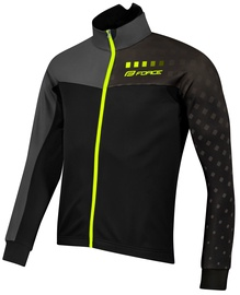 Force X110 Winter Jacket Unisex Black/Gray S