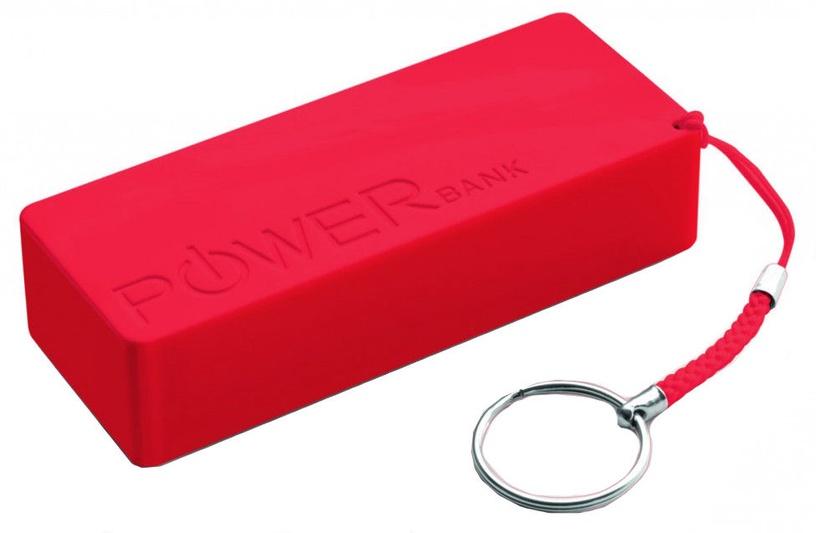 Ārējs akumulators Esperanza Quark XL Red, 5000 mAh