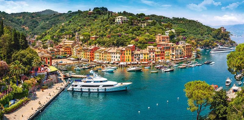 Puzle Castorland View Of Portofino, 4000 gab.