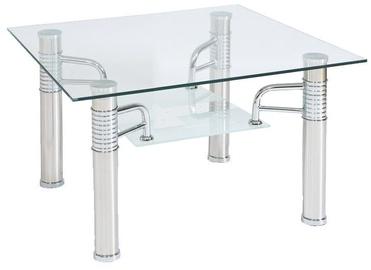 Kafijas galdiņš Signal Meble Reni D Transparent, 600x600x550 mm