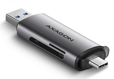 Axagon CRE-SAC SuperSpeed USB-C USB-A Card Reader