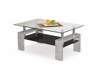 Kafijas galdiņš Halmar Diana Intro Concrete, 1000x600x450 mm
