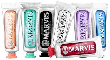 Marvis Toothpaste Aquatic Mint 7 x 25ml