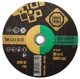 Disks akmens griešanai Forte Tools 230x3,0x22,23mm