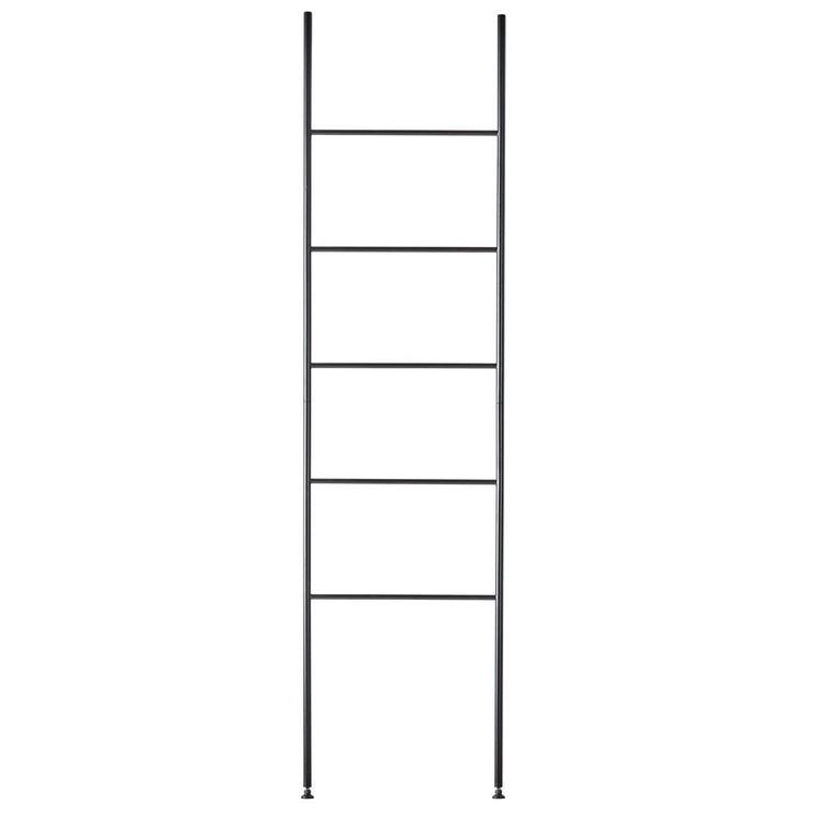 Aquanova Icon Towel Ladder Black
