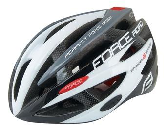 Force Road Helmet Black/White/Gray XS