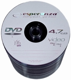 Esperanza 1106 16x 4.7GB Spindle 100 DVD's